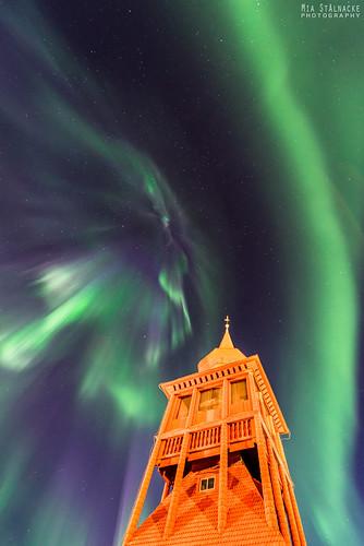Towering corona