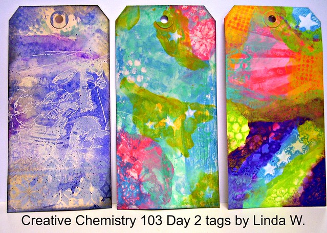 Creative Chemistry 103 Day 2 tags First two techniques