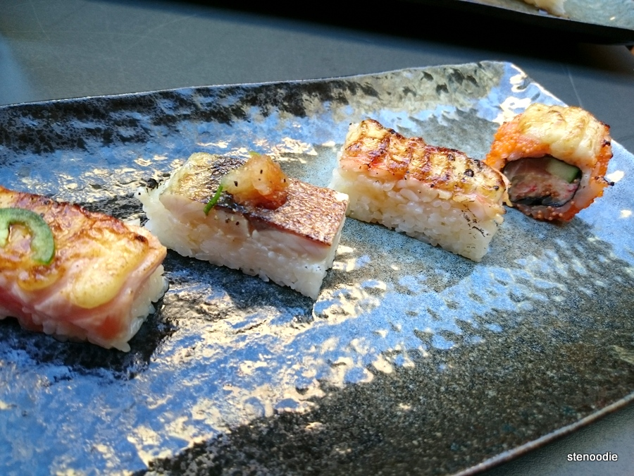 Sushi at JaBistro