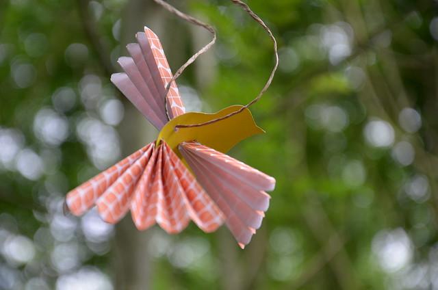 Forêt poétique : Allée des oiseaux