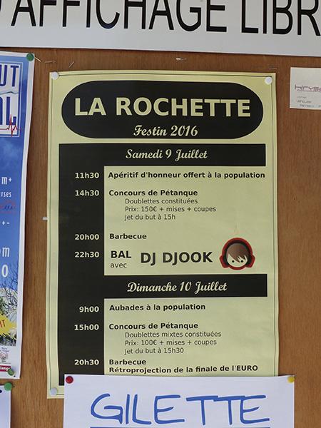 festin de la Rochette