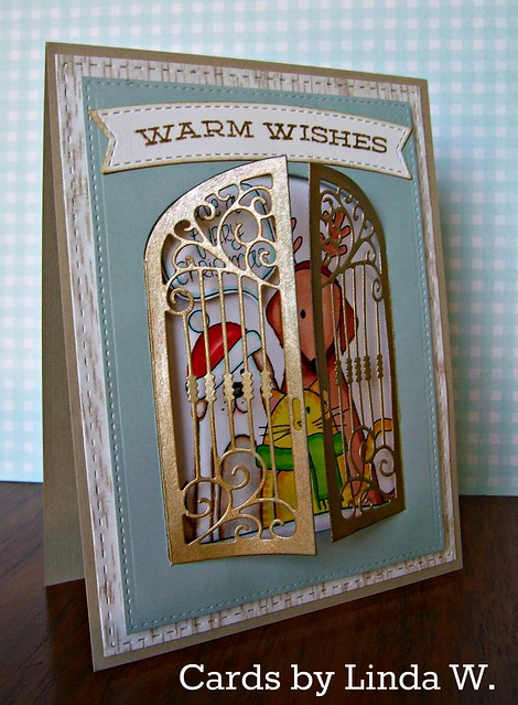Warm Wishes Furry Christmas gate closed