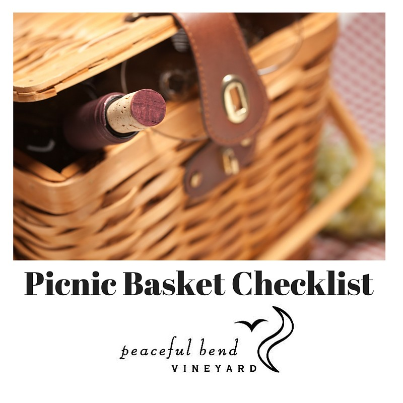 Picnic Basket Checklist