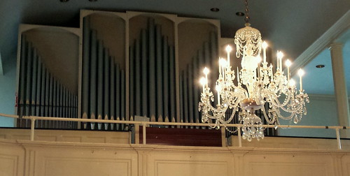 The Organ And Chandelier
