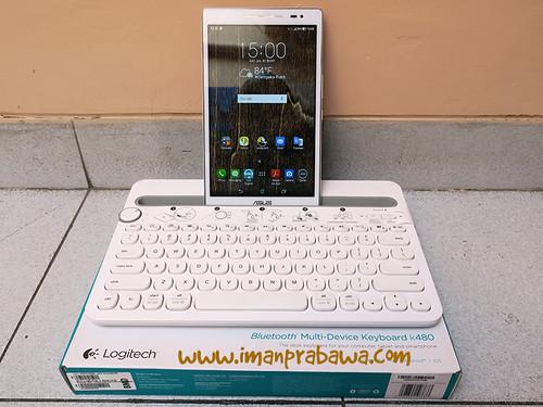 Review Keyboard Bluetooth Logitech K480 003