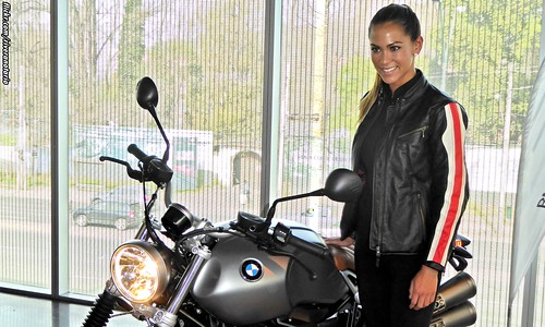 Natalia | BMW R nineT Scrambler | Lanzamiento en Chile
