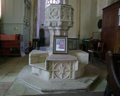 font on a Maltese Cross base