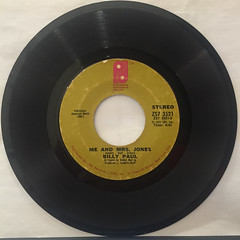 BILLY PAUL:ME AND MRS. JONES(RECORD SIDE-A)