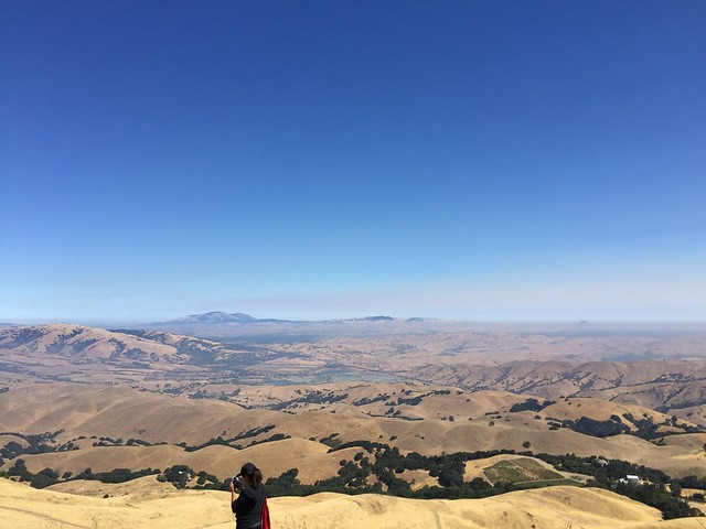 Looking Mt.Diablo